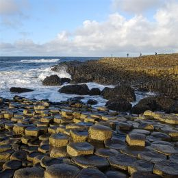 Discover the world renowned geological formations of The Giants Causeway in Co Antrim.