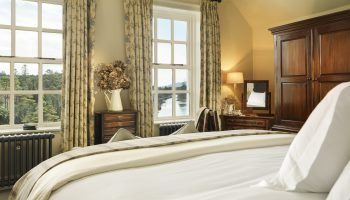 Ballynahinch Castle has beautiful views, part of Leisure Tours Ireland