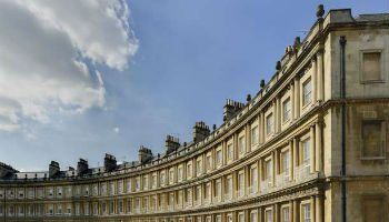 The city of Bath, a UNESCO world heritage site