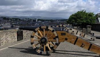 Medieval walls of London-Derry. As seen on our Educational Tours of Ireland