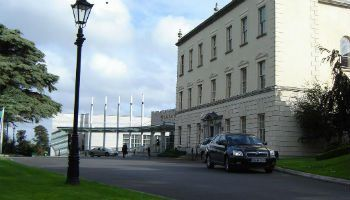 Dunboyne castle hotel on one of our incentive tours