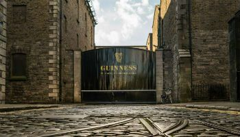 Enjoy a pint of the black stuff at the Guinness Storehouse in Dublin on one of Discover Ireland Tours Leisure Tours of Ireland