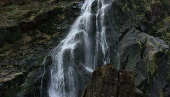 Waterfalls like this are found on our Garden & Park Tours Ireland