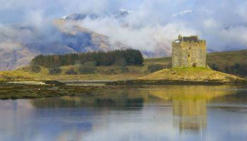 Castle on an Island in Loch Laich. Part of destination management company Ireland