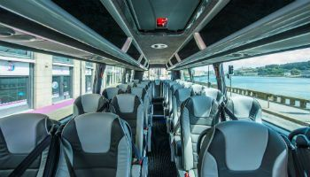 Interior of a Mercedes Voyager, perfect for Incentive Travel To Ireland