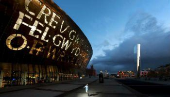 The Wales Millennium Centre in Cardiff