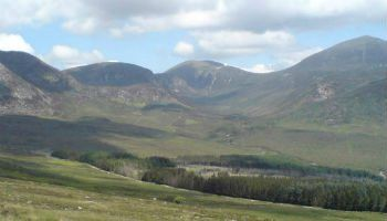 The Mountains of Mourne inspired a famous Irish Folk Song