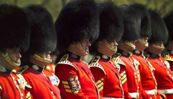 Scots Guards at Buckingham Palace