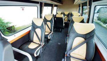 The interior of our vehicles are designed for comfort