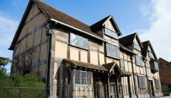 Shakespeare's Birthplace in Stratford, England