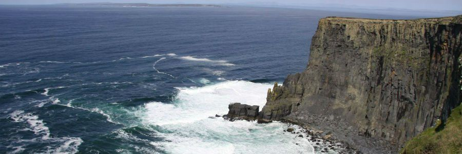 The Cliffs of Moher in Clare is one of Ireland's most famous sights