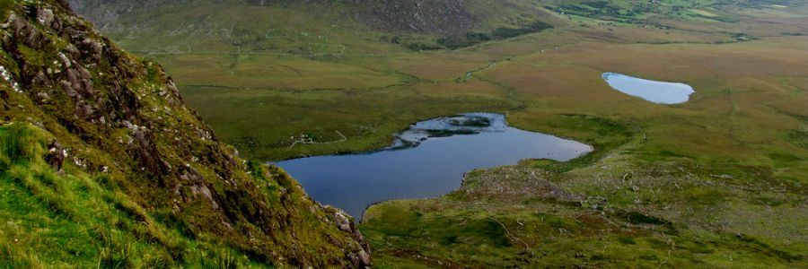 Conor Pass, County Kerry, enjoy the Irish countryside on our Leisure Tours of Ireland