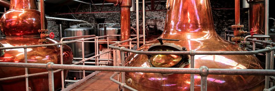 Stills in the Dingle Distillery, enjoy the iconic sights of Ireland on our Leisure Tours of Ireland