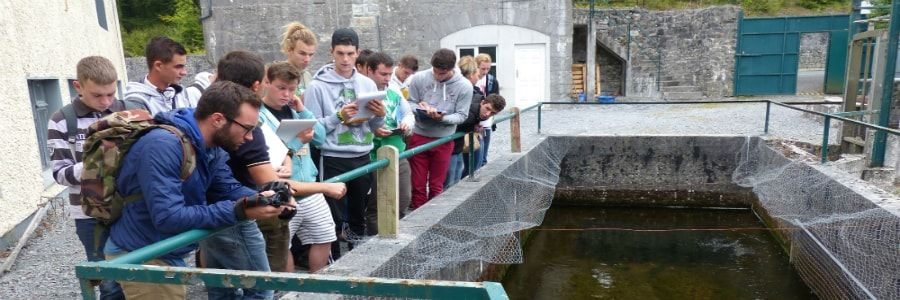 High School Students on one of our educational tours of ireland