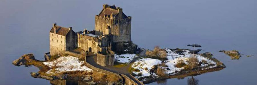 This historic castle is one of the iconic images of Scotland.
