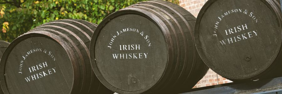 Jameson Barrels. Enjoy the iconic scenes of Ireland with Discover Ireland Tours.