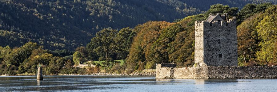 Narrow Water Castle, County Down. See the sights of historical Ireland with Discover Ireland Tours.