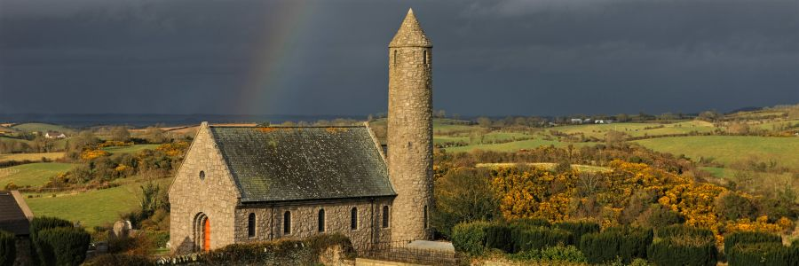 Saul Church, County Down. Enjoy The religious and historical culture of Ireland with Discover Ireland Tours.