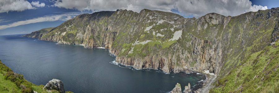 Visit Slieve League on an Student Tour of Ireland