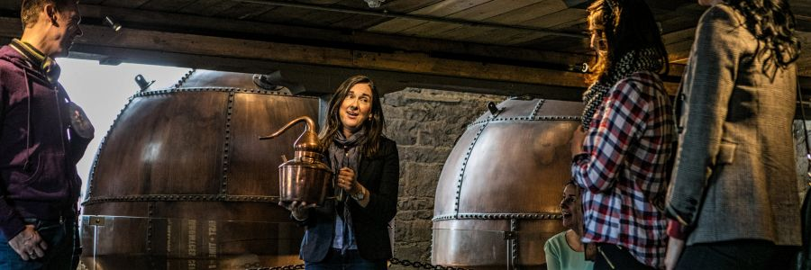 Enjoy a little taste of the fine Tullamore Dew Irish Whiskey on one of our Tours of Ireland