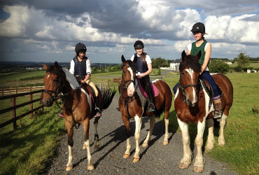 Coolmine equestrian centre superb scenery